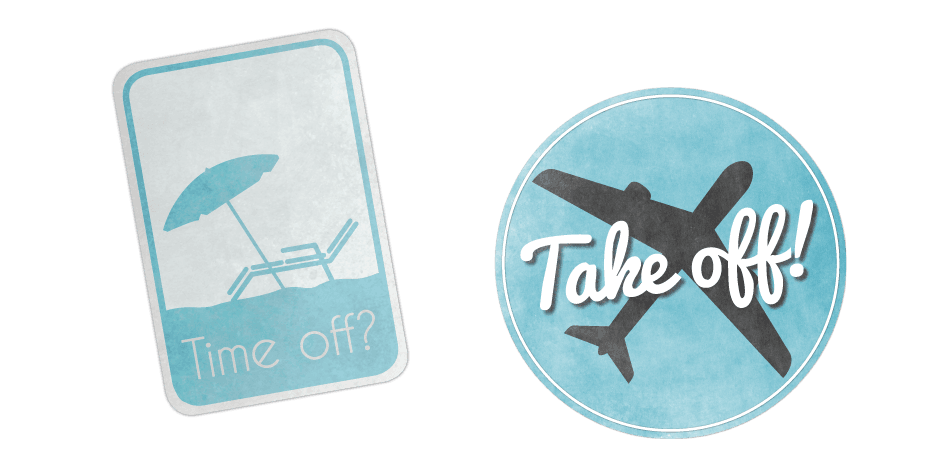 Time Off, Take Off's logo
